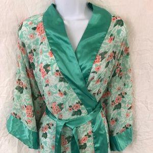 Victoria secret gown floral